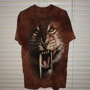 Tops - Saber tooth Tiger Oversized Tee
